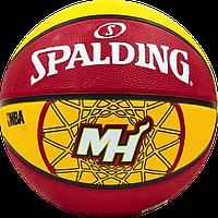 Баскетбольный мяч Spalding NBA Team HEAT