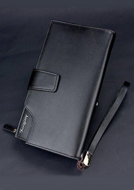 Мужское портмоне Baellerry Business  ( черный )