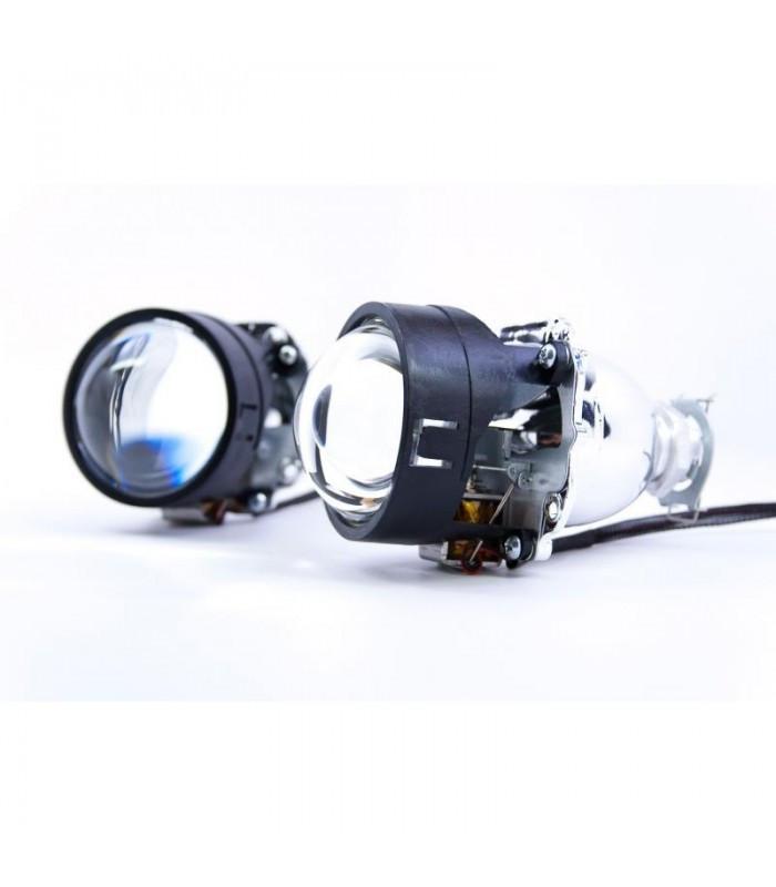 Комплект Билинзы+лампы+блоки розжига MORIMOTO H1 (полный установочный комплект)