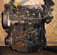 Двигатель F8Q 630 48кВт без навесногоRenaultKangoo 1.9D1997-2007F8Q K 630 (F8T)