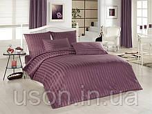 Комплект постельного белья сатин  Altinbasak евро размер Gulkurusu