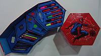 """Набор художника """"Спайдермен Человек Паук Spider man"""",46предм.Детский набор для рисования """"Спайдермен Человек П"""