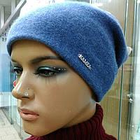 Georgia зимняя женская шерстяная шапка Kamea,  джинсовый цвет, фото 1