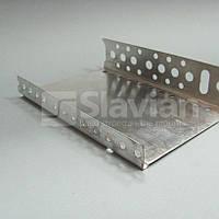 Профиль цокольный стартовый, 103мм (алюминий 0,5мм)