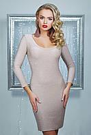 Блестящее розовое платье