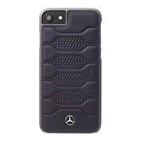 Чехол CG Mobile Mercedes PATTERN I для iPhone 8/7 натур. кожа, Blue (MEHCP7PGRNA)