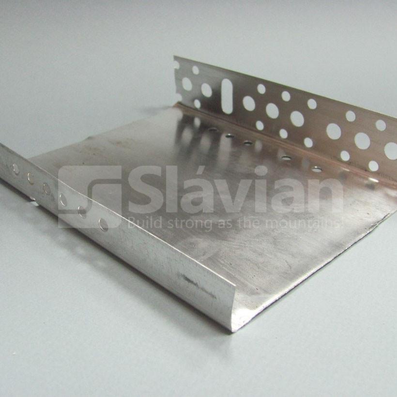 Профіль цокольний стартовий, 123мм (алюміній 0,5 мм)