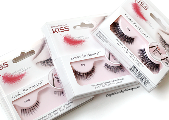 Супер-легкие накладные ресницы Looks So Natural Lash by KISS, фото 2