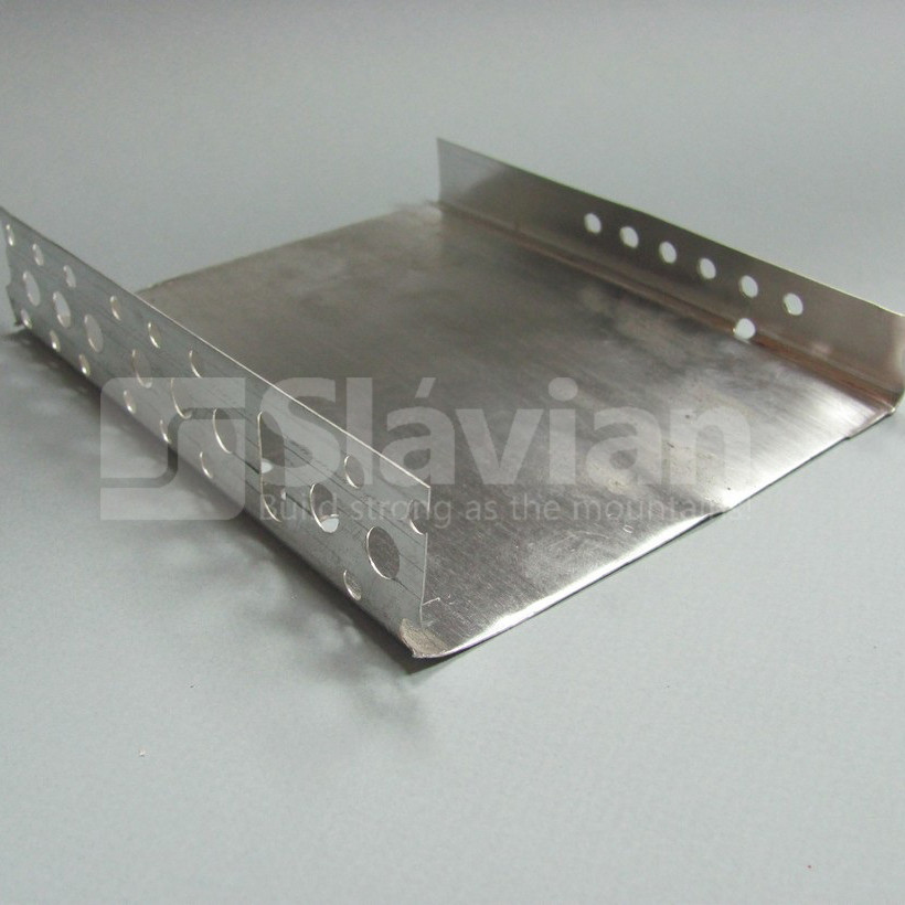 Профиль цокольный стартовый, 153мм (алюминий 0,5мм), фото 1