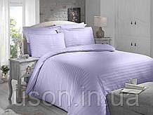 Комплект постельного белья сатин  Altinbasak евро размер Lila