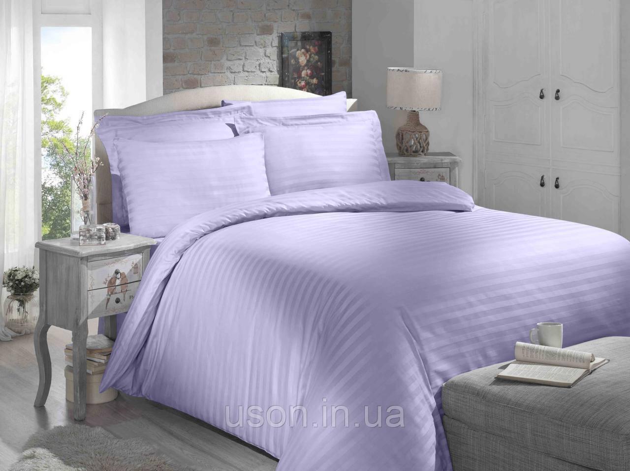 Купить Комплект постельного белья сатин Altinbasak евро размер Lila