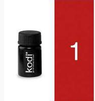 Цветной гель Kodi Professional №1, 4 мл