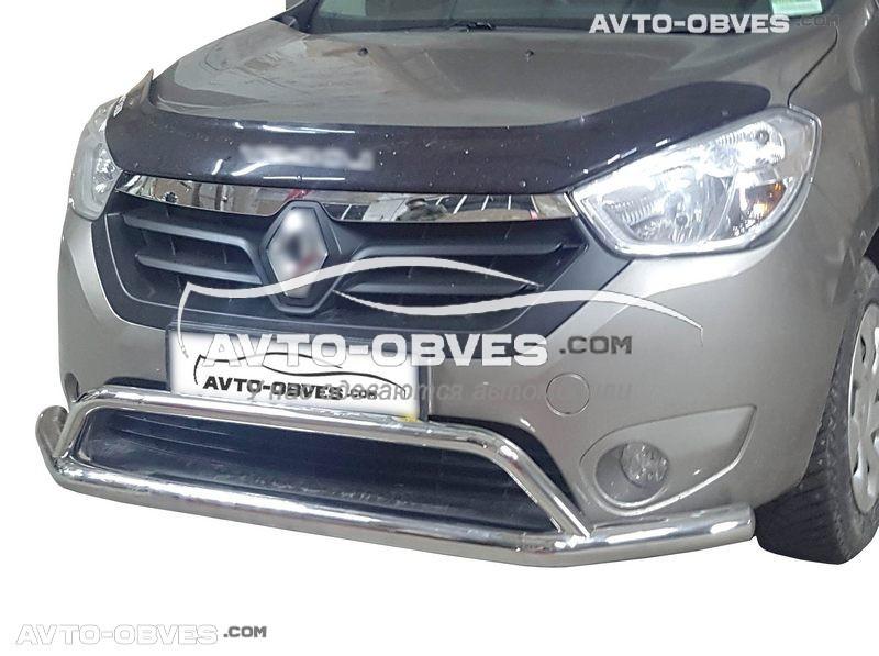 Захисна дуга з окантовкою нижньої решітки для Renault Dokker