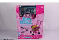 """Детский игровой набор """"Кассовый аппарат с тележкой"""" Baby Tilly XS-613"""
