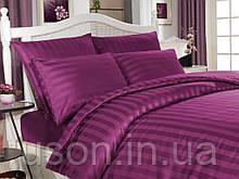 Комплект постельного белья сатин  Altinbasak евро размер Mor
