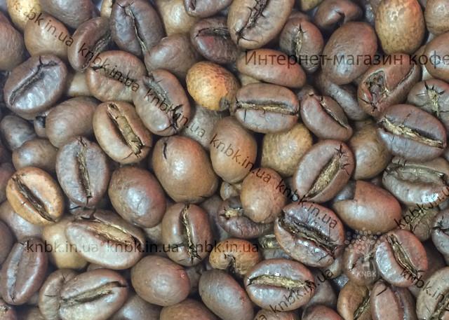 Робуста Вьетнам (Robusta Vietnam) фото свежеобжаренных зерен