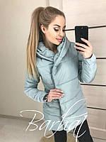 Теплая женская куртка на синтепоне (3 цвета)