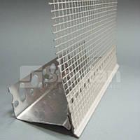 Накладка (профиль) ПВХ с капельником для цокольного профиля, 2,5м