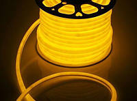 Гибкий неон флекс Жёлтый - 100м