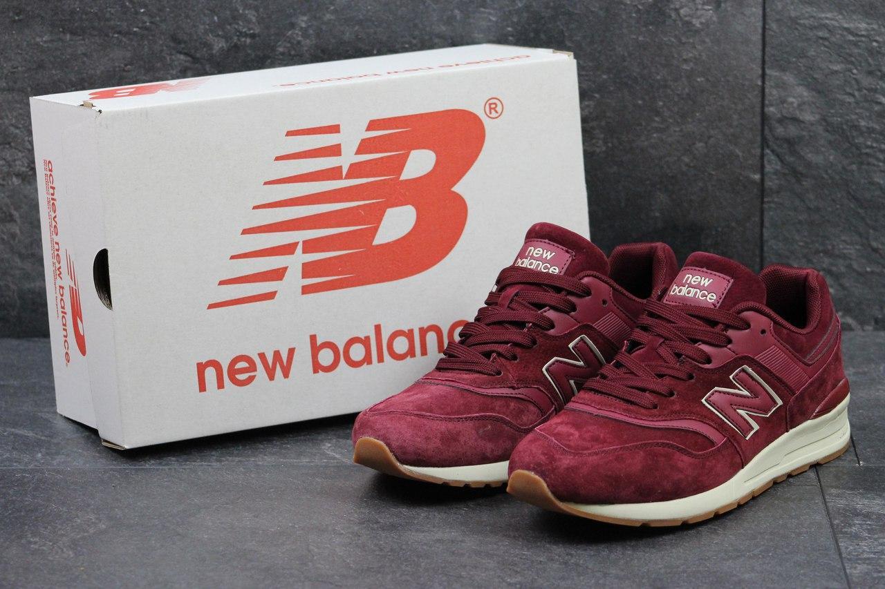 1387a8e40ed6 Кроссовки мужские New Balance 997 (бордовые), ТОП-реплика  продажа ...
