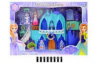 """Замок """"Frozen"""" Холодное сердце, озвученый со световыми эффектами"""