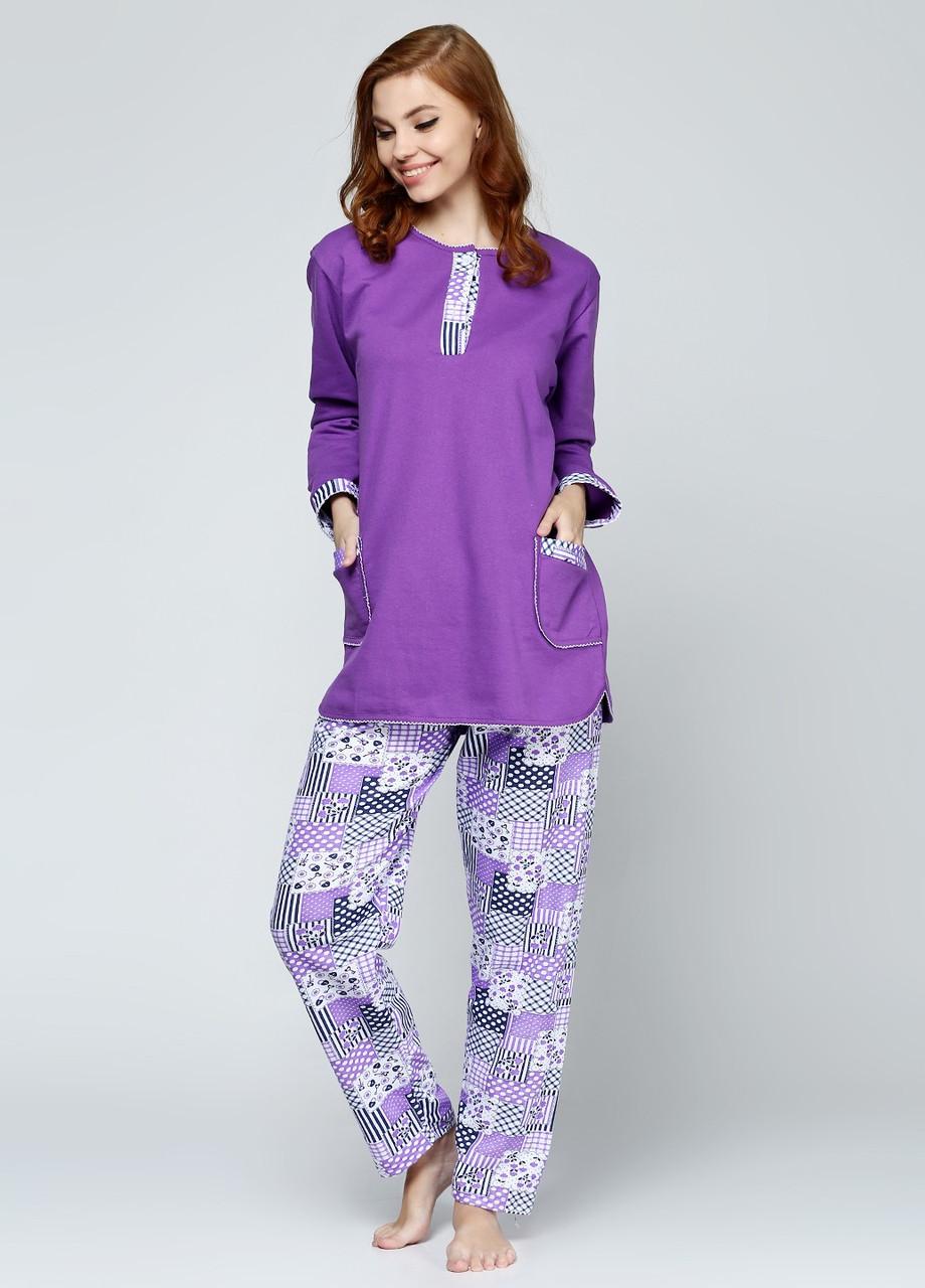Женская пижама с начесом