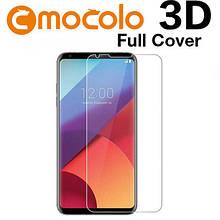 Защитное стекло Mocolo 3D 9H на весь экран для LG V30 H930 прозрачный
