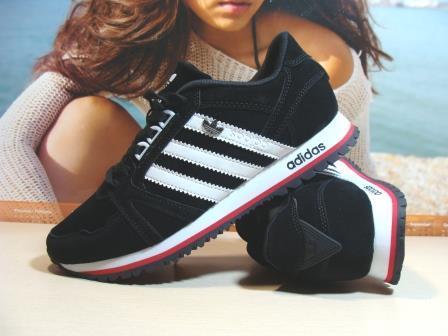 Мужские кроссовки Adidas (реплика) черные 44 р.