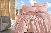 Комплект постельного белья сатин Altinbasak евро размер Somon