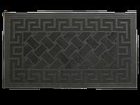 """Коврик резиновый грязезащитный придверный """"Змейка"""", размер 40х70см (5мм, вес 1.4кг)"""