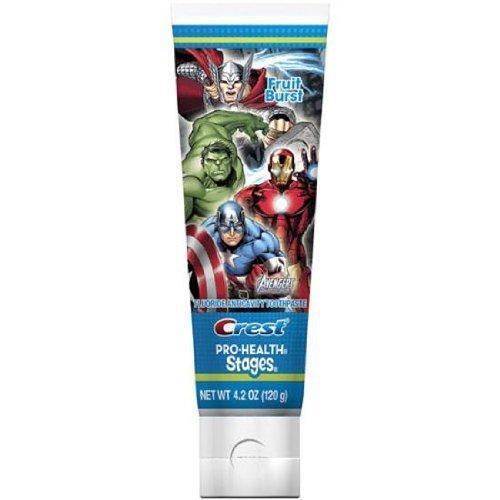 "Детская зубная паста ""Мстители"" Crest Pro Health Stages Kids Toothpaste"
