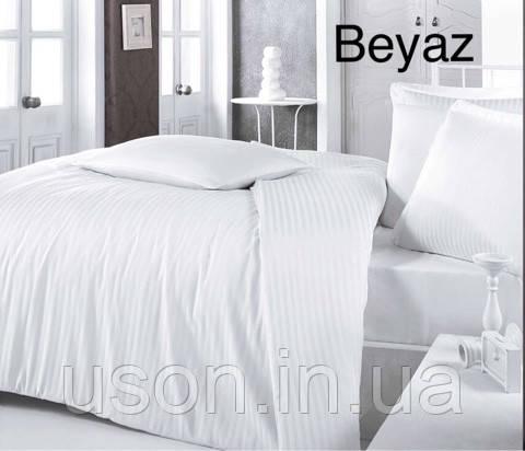 Комплект постельного белья сатин  Altinbasak семейный размер Beyaz