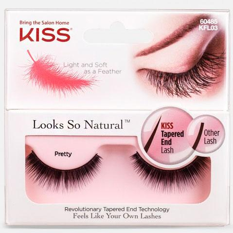 Супер-легкие накладные ресницы Looks So Natural Lash by KISS Pretty
