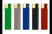 Зажигалка пьезо xFox цветная резина RA-01/D