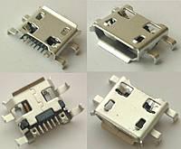 Коннектор Micro USB, Micro USB Гнездо, Micro USB разъем для китайского планшета №9. 1 шт
