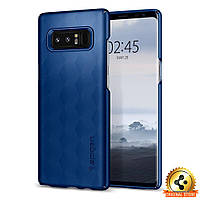 Чехол Spigen для Samsung Note 8 Thin Fit, Deep Sea Blue, фото 1