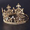 Корона мужская ОЛИМПИЯ церковная круглая корона царская , фото 3