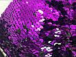 Купальник раздельный, бикини, мягкая чашка с вкладышем, бразилиана, пайетки, портупея фиолетовый-132-022, фото 2