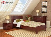 Кровать деревянная Венеция Люкс односпальная 120х200, Массив