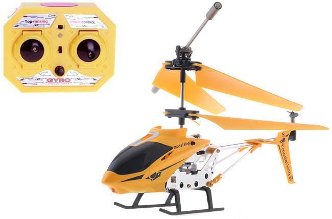 Вертолет аккум р/у 33008 Желтый, фото 2