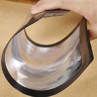 Переносное увеличительное стекло, трехкратное увеличение, лупа A4 линза