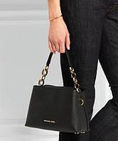 Женская сумка MICHAEL KORS Portial Medium Black (5699), фото 1