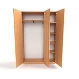 Шкаф офисный для одежды ШО-4. Шкафы для верхней одежды, фото 4