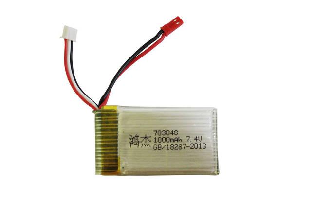 Аккумулятор (FT007) Hot RC Li-Po 1000mAh 7.4V 2S 25C, фото 2