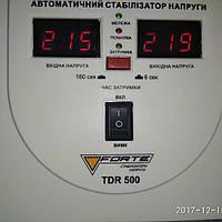 Стабилизатор напряжения, релейного типа, однофазный с TDR-500