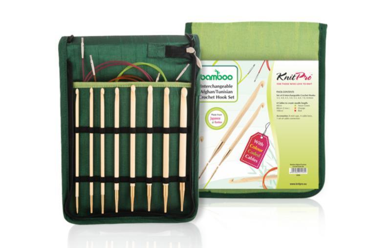 Набір гачків знімних Bamboo KnitPro