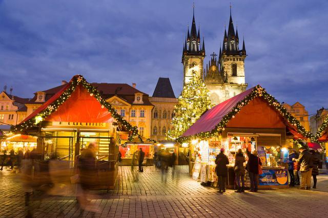 Рождественский рынок в Праге. Фото 2