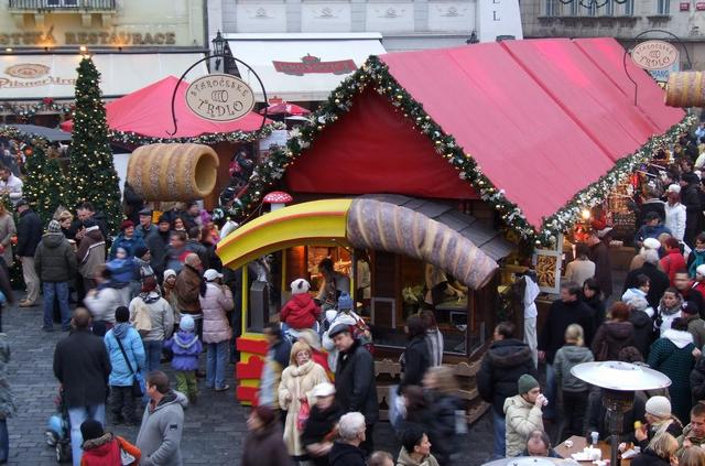 Рождественский рынок в Праге. Фото 4