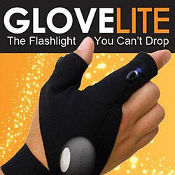 Перчатка для рыбалки с подсветкой Glove lite (987)