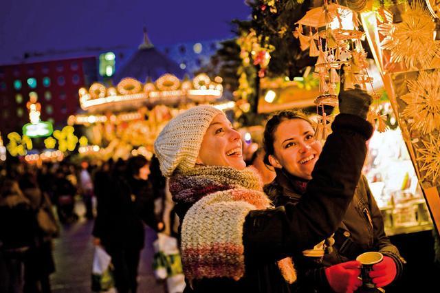 Рождественский рынок в Праге. Фото 5